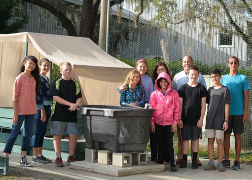 Middle School Aquaponics Opens Door for Increased STEAM Experiences