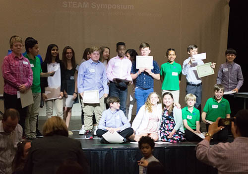 Students Present 2nd Annual STEAM Symposium