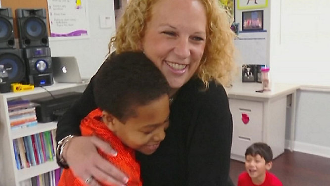 Corbett Prep Teacher Receives TV Award