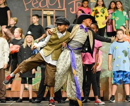 Warriors' Pride Presents James and the Giant Peach